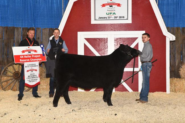 4-H Heifer Project Reserve Champion – Thomas Wildman